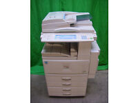 Photocopier black & white Ricoh Aficio 1022, very low running cost A3 A4 document feeder duplex