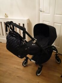 Bugaboo bee plus all black edition spare