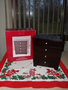 ~ JUST REDUCED THE PRICES ~ SELLING 4 UNIQUE JEWELLERY BOXES ~