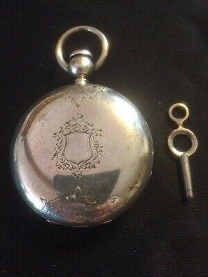"Antique 1864 Civil War Era Waltham ""PS Bartlett"" 18s 7j Pocket Watch-Runs Great"