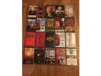 Job lot 20 cassettes tapes rock musicals soundtracks 70s seventies mix incl David Bowie The Kinks