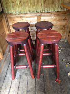 Solid Oak Bar Stool (others also available, see description)