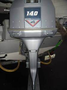 EVINRUDE 140hp 4V  OUTBOARD MOTOR St Marys Mitcham Area Preview