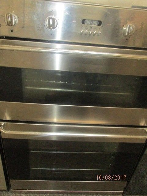 *+*+SMEG/TOP OF THE RANGE*+*+ CHROME INTEGRATED DOUBLE OVEN/FULLY RECONDITIONED/VERY CLEAN/+UPLIFT