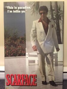 Laminated Large Scarface Posters West Island Greater Montréal image 2