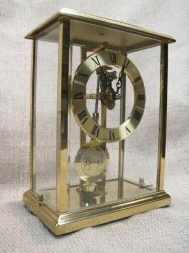 Vintage Benchmark  Skeleton Pendulum Clock – made in Germany