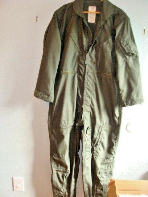 USAF Post Vietnam War era 1978 Coveralls Flying Men's CWU-27/P Fight Suite 46R
