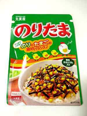 NEW Marumiya FURIKAKE Rice Seasoning(28g) Noritama(Seaweed Egg) Bento Japan F/S