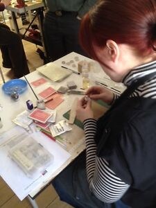 PRECIOUS METAL CLAY BOOT CAMP--One day intensive Class London Ontario image 2