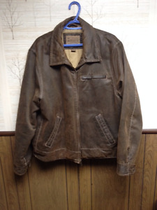 """Columbia """"Distressed"""" Brown Jacket (XL) - Never Worn Out"""