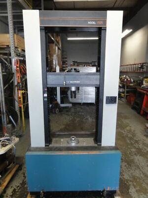 Instron Model 1125 Tension Torsion Tester W Control Cabinet