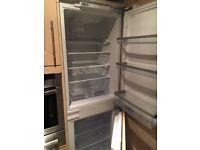 Intergrated fridge freezer