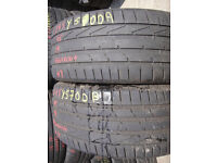 245/45/19 Hankook Ventus S1 Evo x2 A Pair, 5.2mm (168 High Road, Romford RM6 6LU) Second Hand Essex