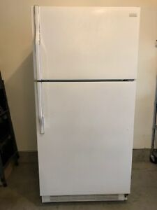 White Magic Chef Top Mount Fridge - $100 (Richmond)