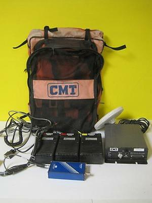 Cmt Gps Lot Ashtech Z-sensor Survey Equipment Brick Acc-powerbat-12-g2-4500 Used