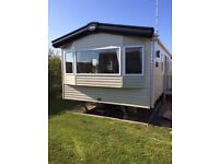 8 Berth Luxury Static Caravan For sale, sited on golden gate holiday centre in Towyn north wales