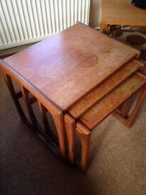 Vintage G-Plan nest of tables