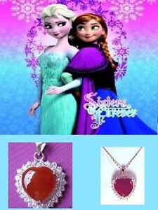 Frozen movie Snow Queen Elsa & Princess Anna Necklaces Regina Regina Area image 5