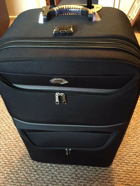 Trolly Suitcase 'Satellite' Large - in Unmarked Condition