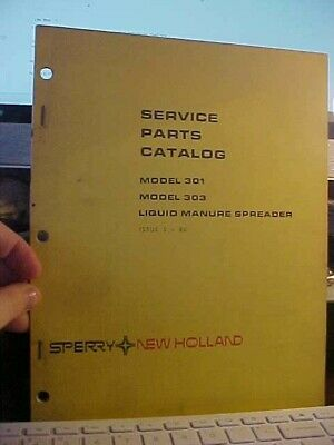 Nh Service Parts Catalog Liquid Manure Spreader 1k