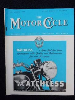 Motor Cycle 25 Aug '49 V83/N2420; Matchless, D.R.s, Ulster G.P