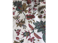 Curtains: vintage Laura Ashley material