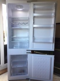Fully integrated Flavel fridge freezer- excellent condition -