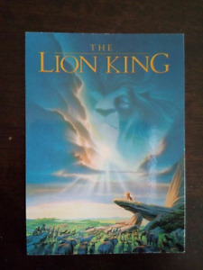 Lion King card collection (almost-complete)