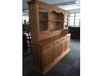 Modern pine Welsh dresser