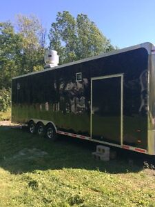 Jills New Fry Trailer under construction See new Pictures