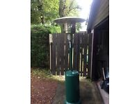 Patio heater for sale (barely used)