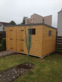 12ft x 6ft Pent Garden Shed