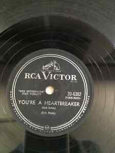 Elvis-Presley-78RPM-You're-A-Heartbreaker-Milkcow-Blues-Boogie West Island Greater Montréal image 2