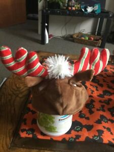 Christmas reindeer ears for cats or small dog