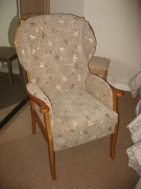 High Back Armchair