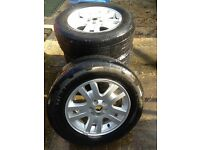 4x Land Rover Freelander 2 Wheels and Tyres