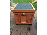 Great Rabbit or Guinea Pig House / Hutch for Garden 42x43x51 cm - Never Used