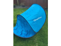 Quechua Shelter pop up tent UPF 30 Blue