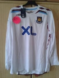 West Ham football shirts