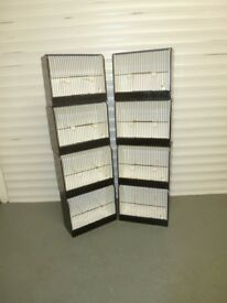 FINCH / MULE CAGES FOR SALE VERY GOOD CLEAN CONDITION EIGTH IN TOTAL