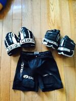 2 Pairs of Hockey Gloves and Jock