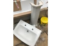 Bathroom sink- traditional style