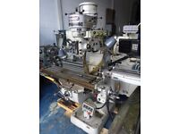 BRIDGEPORT MODEL BRJ TURRET MILLING MACHINE