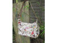 Cath Kidson Oilcloth Garden Bird Bag