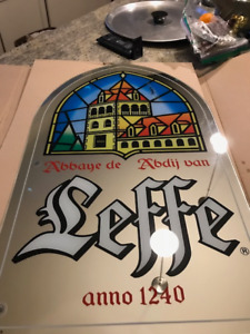 Beer Mirrors Leffe, Tennents, Lowenbrau