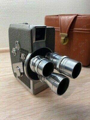 Wollensak Eight  model 53 - vintage 8MM camera from the 1950's with original bag
