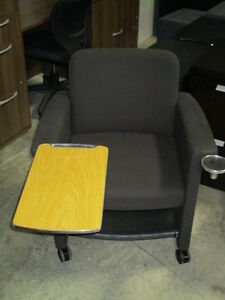 Teknion Belize-Lounge Chairs with Tablet and Cup Holder Peterborough Peterborough Area image 3