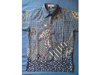 Batik shirts in different models and colors