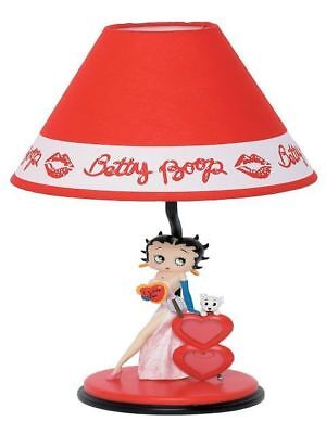 BETTY BOOP LAMP HEARTS DESIGN