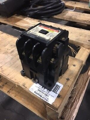 Hitachi AC Magnetic Contactor, H35, 220V Coil, Used, Warranty